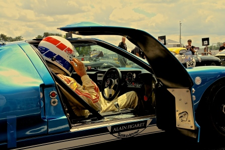 GT40 Pilot @ Le Mans Classic