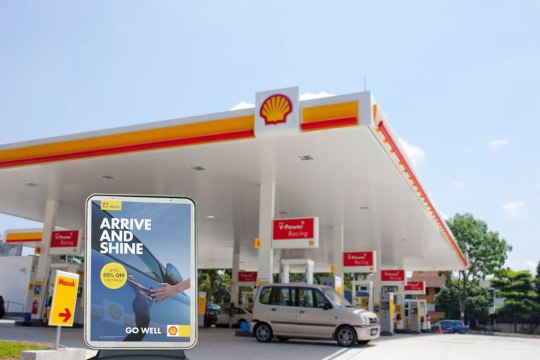 Shell Global Car Wash campaign